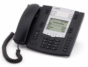 Aastra 6755i Advanced Featured Expandable VoIP Telephone with AC Adapter (PoE Compatible)