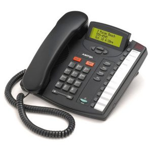 Aastra M9116 (Charcoal) Single-line phone in a line powered telephone