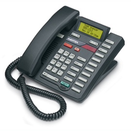 Aastra M9316CW (Black) DISCONTINUED Single-line telephone with Call Waiting, good choice for heavy phone users