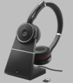 Jabra Evolve 75 MS Stereo headset w/Charging Stand