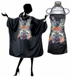 Biker Chic Stylist Apron and Salon Cape Set<font size=2.5>