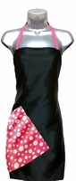 Hairstylist Apron Black-and-Pink