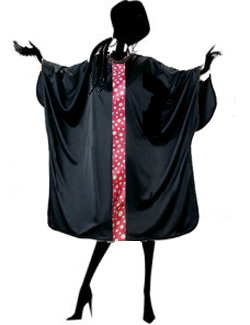 Salon Cutting Cape  with Pink Dot