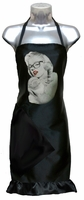 Hair Salon Apron Marilyn Monroe (ruffle included)