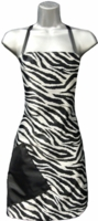Hair Salon Stylist Apron Zebra