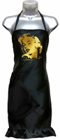 Hair Stylist Salon Apron Marilyn Monroe Gold Foil (ruffle included)