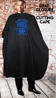 Custom Barber Salon Cape