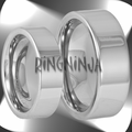 His and Her Tungsten Wedding Ring Sets