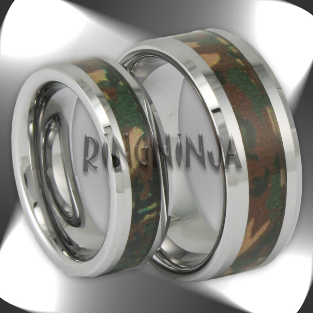 His And Her Tungsten Wedding Ring Sets Ring Ninja