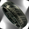 Tungsten LOTR Rings