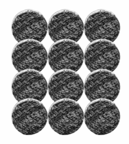 "<b>Buff and Shine 2"" Uro-Fiber Microfiber Pad Bulk 12 Pack</b>"
