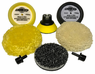Buff and Shine 3 Inch Deluxe 8- Piece Mini Buffing Pad Kit