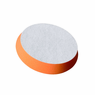 "<b>Buff and Shine 3"" Uro-Cell Orange Polishing Foam Grip Pad </b>"