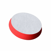 "<b> Buff and Shine 3"" Uro-Cell Red Finishing Foam Grip Pad  </b>"