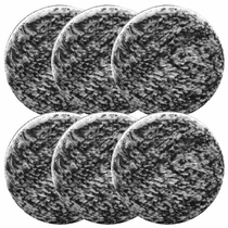 "<b>Buff and Shine 3"" Uro-Fiber Microfiber Pad 6 Pack</b>"