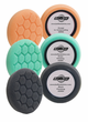 """Buff and Shine 4"""" Hex Pad 6-Pack"""