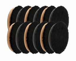 "<b>Buff and Shine 5.5"" Microfiber Pad 12 Pack</b>"