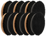 "<b>Buff and Shine 6.5"" Microfiber Pad 12 Pack</b>"