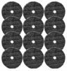 "Buff and Shine 6"" Uro-Fiber Microfiber Pad 12-Pack"
