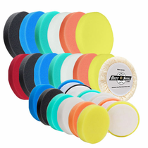 "Buff and Shine Euro Foam and Wool 4"", 5 1/2"" & 6 1/4"" Grip Pads"
