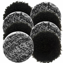 "<b>Buff and Shine Uro-Fiber 3"" Microfiber Pad Mix & Match 8 Pack </b>"