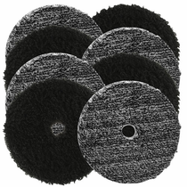 "<b>Buff and Shine Uro-Fiber 6"" Microfiber Pad Mix & Match 8 Pack </b>"