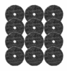 "Buff and Shine 5"" Uro-Fiber Microfiber Pad 12-Pack"