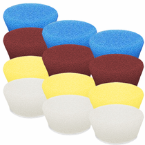 "<b>Buff and Shine Uro-Tec 1"" Foam Pad  Mix & Match 12 Pack</b>"