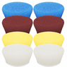 "<B>Buff and Shine Uro-Tec 1"" Foam Pad Mix & Match 8 Pack</b>"