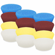 "<b>Buff and Shine Uro-Tec 2"" Foam Pad Mix & Match 12 Pack</b>"