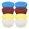 "<b>Buff and Shine Uro-Tec 2"" Foam Pad Mix & Match 8 Pack</b>"