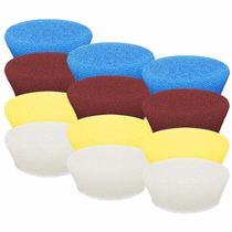 "<b>Buff and Shine Uro-Tec 3"" Foam Pad Mix & Match 12 Pack</b>"