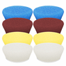 "<b>Buff and Shine Uro-Tec 3"" Foam Pad Mix & Match 8 Pack</b>"