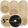 "<b>Buff and Shine Uro-Wool 5"" Cutting Pad Bulk 4, 8 or 12 Pack </b>"