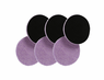 "<b>Lake Country 3.25"" x  1/4"" ""Thin"" Purple Foamed Wool Pad 6 Pack</b>"
