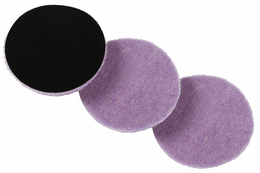 "<b>Lake Country 5.5"" x 1/4"" ""Thin"" Purple Foamed Wool Pad 3 Pack</b>"