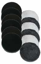 "<b>Lake Country 6 1/4"" Microfiber Pad 12 Pack</b>"