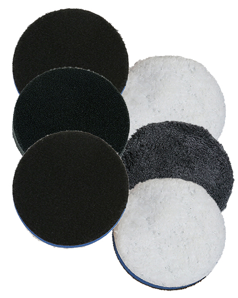 "Lake Country 6.25/"" One Step Light Cutting Microfiber Pad 6 Pack"