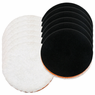 "<b>Lake Country 6.25"" One Step Light Cutting Microfiber Pad 12 Pack  </b>"
