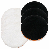 "<b>Lake Country 6.25"" One Step Light Cutting Microfiber Pad 6 Pack  </b>"