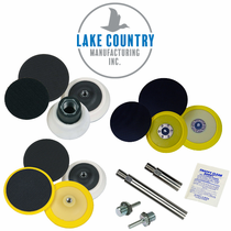 Lake Country Backing Plates & Accessories