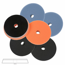 "<b>Lake Country HDO 6 1/2"" Orbital Foam Pad Mix & Match 6 Pack</b>"