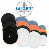 Lake Country HDO Orbital Foam & Microfiber Fiber Pads