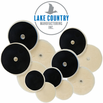 Lake Country Low Lint Prewashed Knitted Lambswool Wool Pads