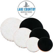 "Lake Country 3.25"", 5.25"" & 6.25"" One Step Light Cutting Microfiber Pads Lake Country 3.25"", 5.25"" & 6.25"" One Step Light Cutting Microfiber Pads 