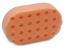 <b>Lake Country Orange CCS Euro Foam Compound & Polish Applicator</b>