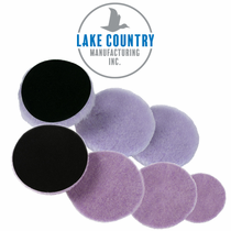 Lake Country Purple Foamed Wool Pads