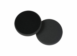 "<b>Lake Country Low Profile 3.5"" Flat Cutback Black Finesse Polishing Pad</b>"