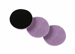 "<b>Lake Country 3.25"" x  1/4"" ""Thin"" Purple Foamed Wool Pad 3 Pack</b>"