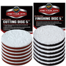 "<b>Meguiars DA 5"" Microfiber Cutting & Finishing Pad 12 Pack</b>"